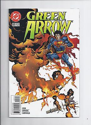 Green Arrow # 101 NM- Death of Oliver Queen HTF 1995 Key