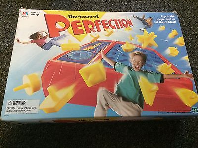 Vintage 1995 The Game of Perfection Complete Milton Bradley