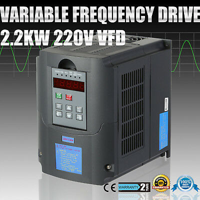 2.2Kw 3Hp Vfd Variable Frequency Drive Inverter Pid Control Soundl Digital