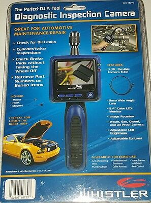 Whistler WIC-1229G Diagnostic Inspection Camera Automotive Maintenance Repair