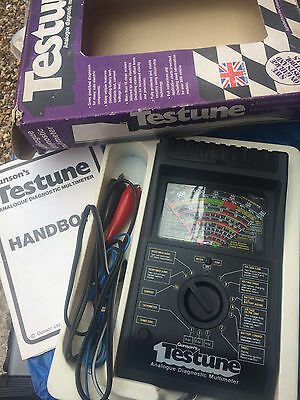 Gunsons Testune Analogue Diagnostic Multimeter Tester Boxed With Instructions