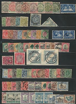 South Africa: Rest of collection,all different high value cat, mostly used. SH11