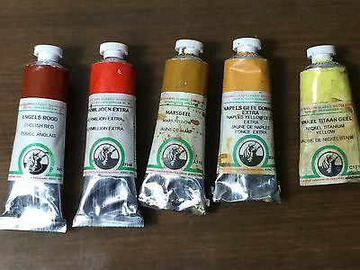Old Holland Oil Paints Assorted