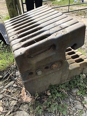 New Holland Ford Front Tractor Weights Full Set 5640 7840 7610 7740