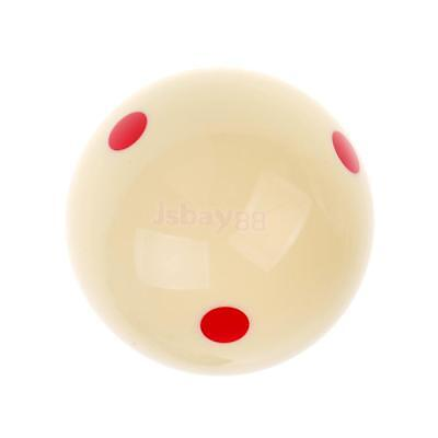 New 57mm 6 Red Dots Billiard Practice Training Cue Ball
