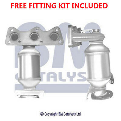 Fit with SEAT CORDOBA Catalytic Converter Exhaust 91302H 1.2 (Fitting Kit Includ