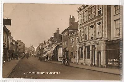 RP Postcard, South Street, Chichester - Post Office