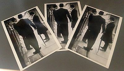 Norman Parkinson  x 3 Savile Row Back to Formality Postcards NEW!