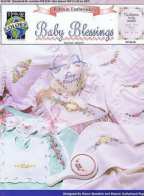 Baby Blessings Ribbon Embroidery Pattern Book (Beginner)