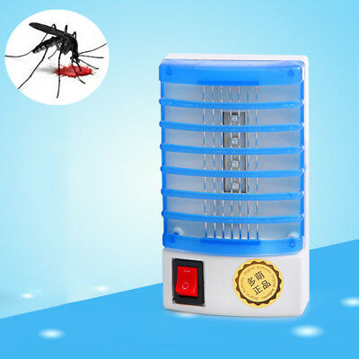 Electric LED Socket Mosquito/Fly Bug/Insect Killer Zapper Trap Lamp Summer Must