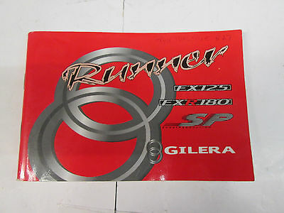 Gilera Ex125/exr180 Owners Manual Used