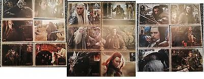 New Zealand 2012-2013-2104  The Hobbit Complete 18 Card Sets