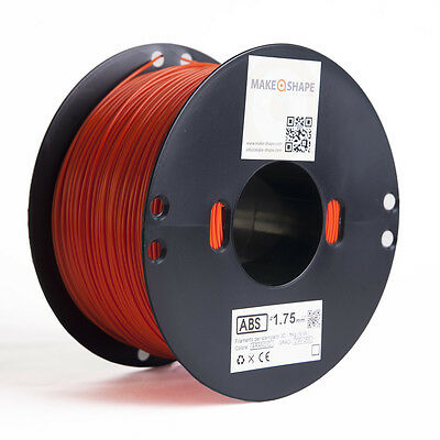 Filamento abs arancio 1kg 1.75mm stampa 3d 100% made in italy