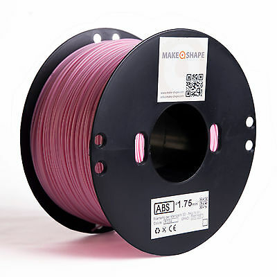 Filamento abs rosa 1kg 1.75mm stampa 3d 100% made in italy