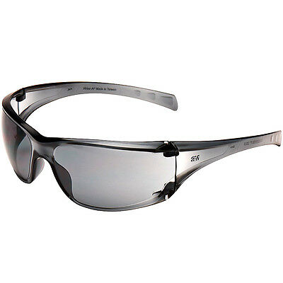 3M Safety Glasses Spectacles Grey Smoke Dust Work Driving Extreme Protection NEW