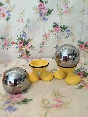 Vintage Salt And Pepper Pots By SKS With Feet!