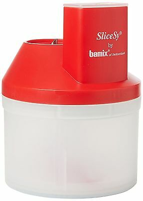 Bamix Slicesy Processor Accessory Red