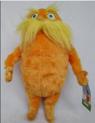 "New Dr. Seuss The Lorax 12"" Plush Stuffed Animal Toy Doll"