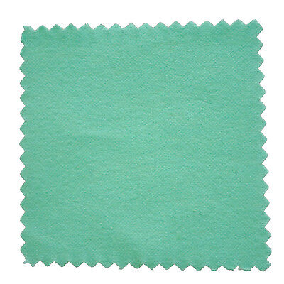 5 x Cloth Cleaning Cloth for Silver Gold A cotton polisher Green 80 * 80mm FK