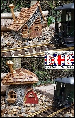 "New G Scale Fairy House Outdoor Magic 12"" Tall Garden Railway Train Gnome Home"