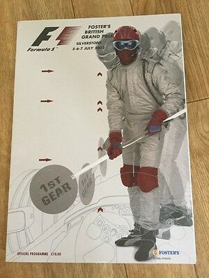 British GRAND PRIX FORMULA ONE F1 2002 Silverstone Official Race Programme
