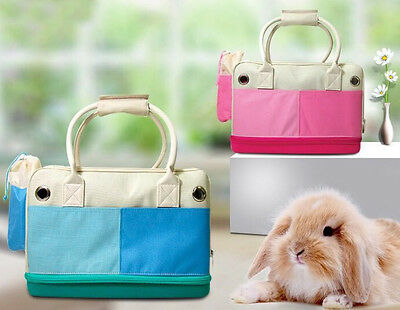 Pet Bunny Rabbit Carry Bag Guinea Pigs Tigers Outdoor Travel Bags Totes Carrier