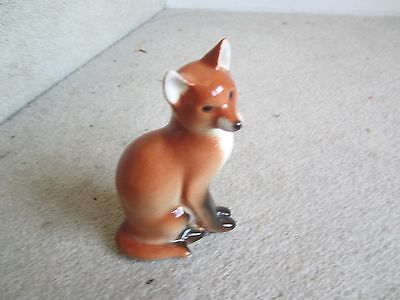 Lovely Lomonosov Sitting Fox