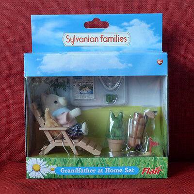 Sylvanian Families GRANDFATHER AT HOME SET Ochre Dog Golf Flair Calico Critters