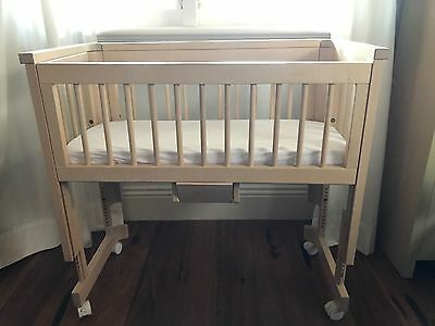 Troll Birch Co Sleeper Baby Bassinet