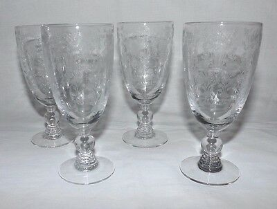 "(Set of 4) Duncan and Miller FIRST LOVE 5 1/4"" JUICE Goblets"