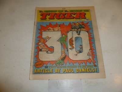 TIGER Comic - Year 1984 - Date 15/09/1984 - UK Paper Comic