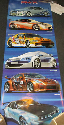 Max Power Poster Sexy Door Size 21 X 62 Nissan Toyota Vauxhall