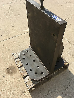 Used 19 x 26 Tombstone Steel Workholding Machining CNC Fixture Angle Plate