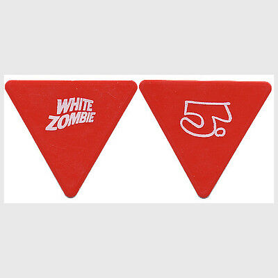 White Zombie Jay Yuneger vintage 1997 concert tour custom stage Guitar Pick