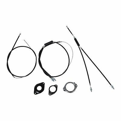 BMX brake cable (front + rear) Extra Long gyro rotor spinner C4A4