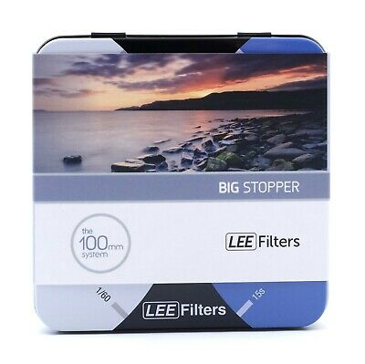 Lee Filters Big Stopper 10 stops 100x100mm Glass Filter for long exposure