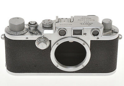 Leitz Leica IIIC III C 470768 sharkskin 1949 exc+++, in working order
