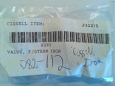 New Cissell J32271 Valve for Steam Iron X393
