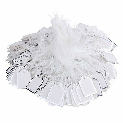 Pack Label Tie String Price Tag Jewelry Display 23x18mm HOT CP