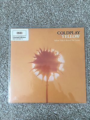 "Coldplay Yellow 7"" Single"