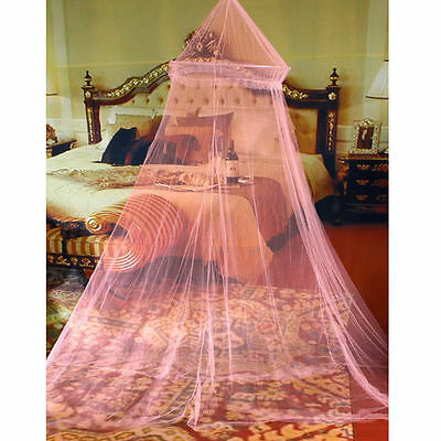 Pink Mosquito Canopy Bed Net Mesh Lace Pretty Kids Protects You From Bugs Insect