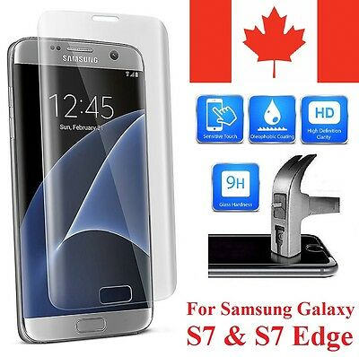 Samsung Galaxy S7 Edge 3D Curved Tempered Glass Screen Protector Full Coverage