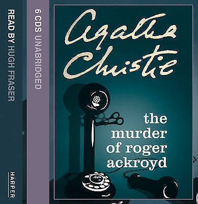 The Murder of Roger Ackroyd: Complete & Unabridged by Agatha Christie (CD-Audio,