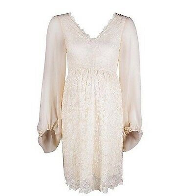 Rock A Bye Rosie Maternity Dress Evening Wedding Party Uk 12 Bnwt