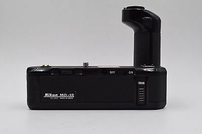 NIKON MD-12 MOTOR DRIVE WINDER for FM FA FE FE2 FM2 FM3A From Japan