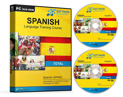 Learn How to Speak SPANISH Language 2 x DVD Learning Course