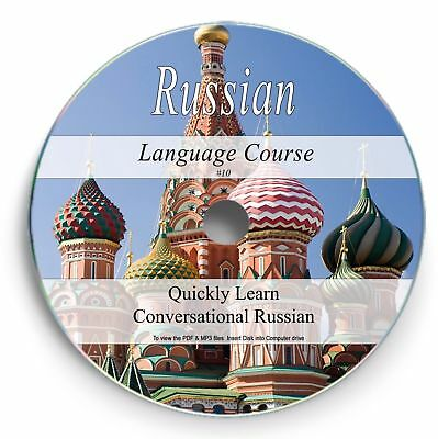 Learn How to Speak RUSSIAN Language Audio Course CD Disc