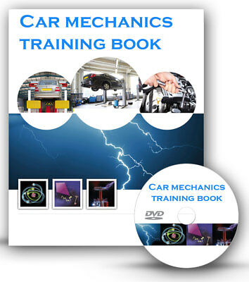 Car Mechanics Mechanic Tools Training Book Course Disc