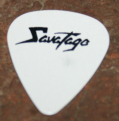 Savatage Chris Caffery Official Guitar Pick Very Rare! 1991 Streets Tour Oop Htf