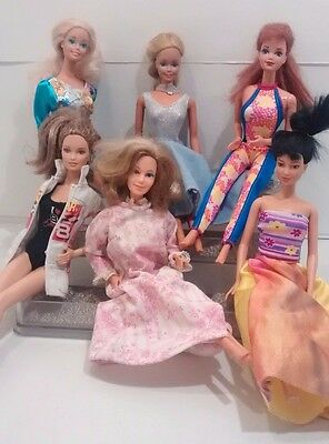 Vintage Barbie Dolls Mixed Lot Twist & Turn
